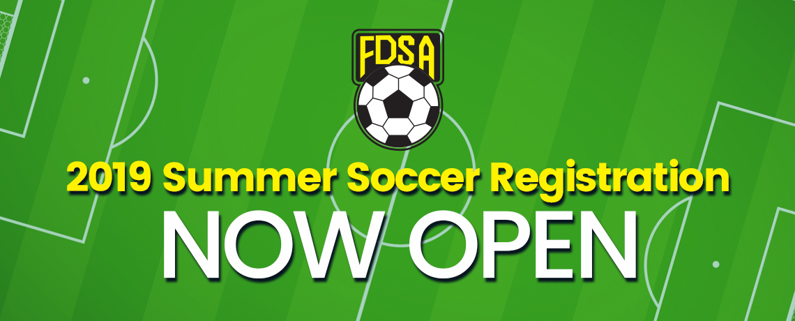 2019 Summer Registration Opens Monday March 11th