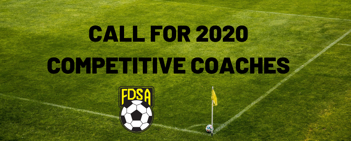 Call for 2020 Competitive Coaches