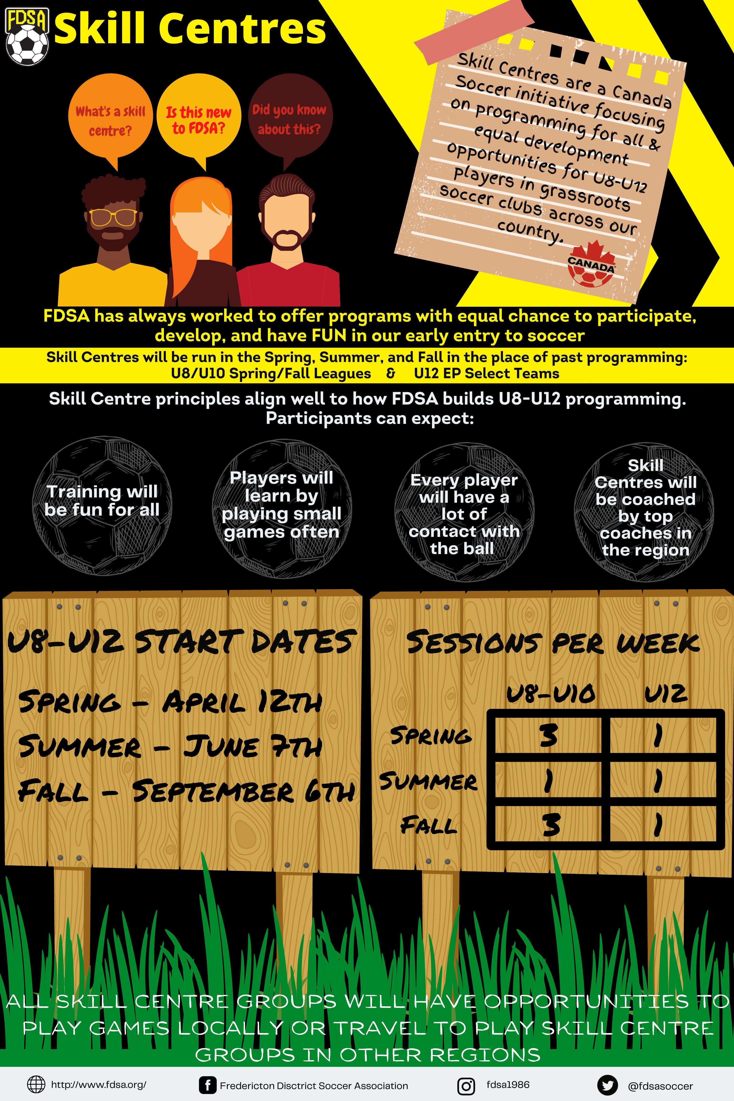 Fall Skills Centre Registration is OPEN!