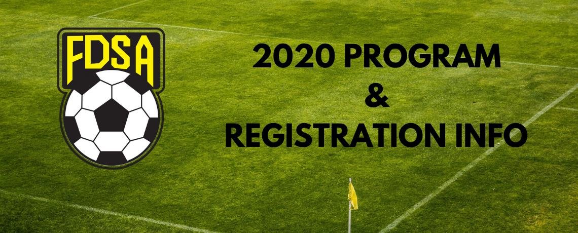 2020 Summer Program and Registration Information