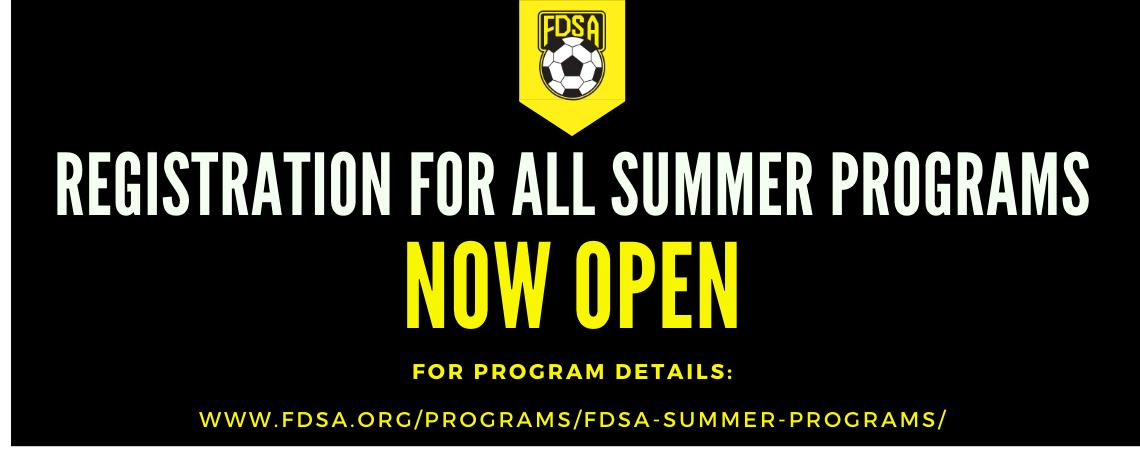 2020 Summer Registrations NOW OPEN!