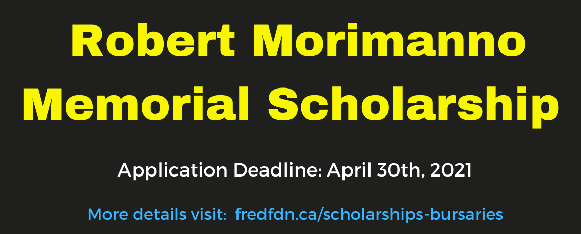 Robert Morimanno Memorial Scholarship Fund Accepting Applications Until April 30th.