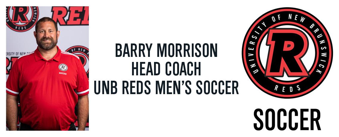 FDSA's Barry Morrison Appointed Head Coach of UNB Men's Soccer Program