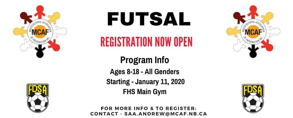 Futsal programming available through MCAF