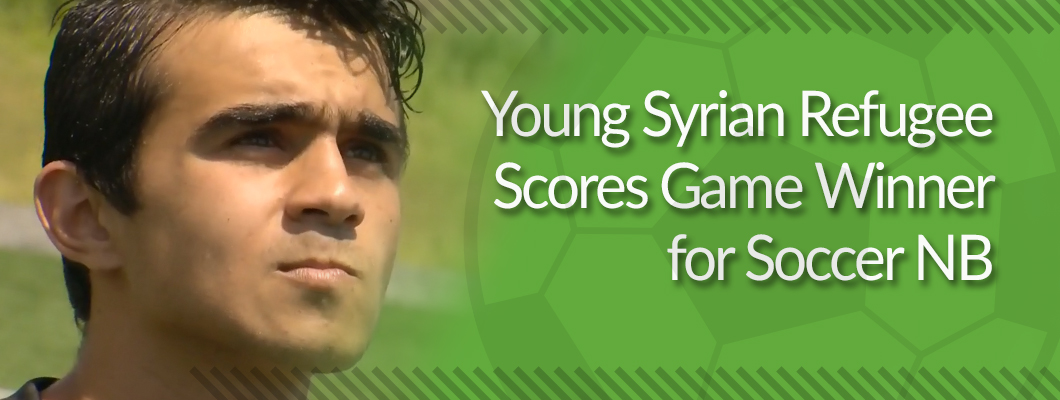 Young Syrian Refugee Scores Game Winner for NB