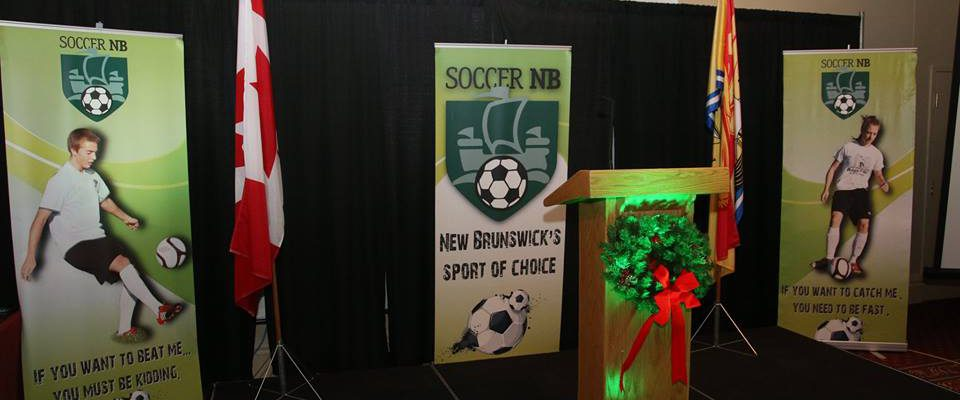 FDSA & Fredericton Take home 4 Awards at 2018 Soccer NB Awards Gala
