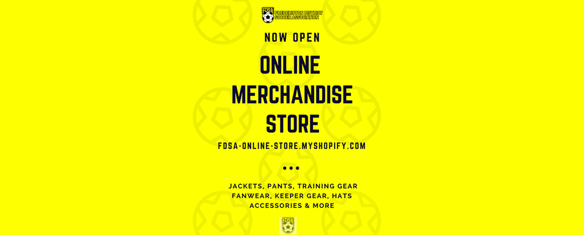 FDSA Online Merchandise Store Now Open!