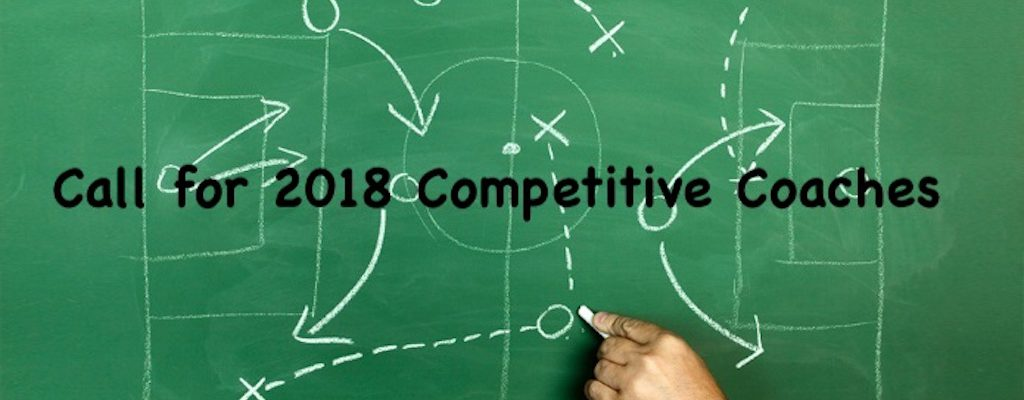 Call for 2018 Competitive Coaches